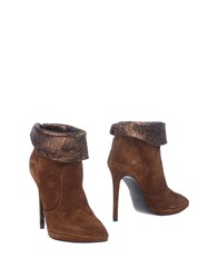 Icone Ankle Boots Brown