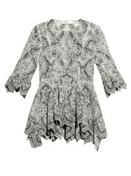 Zimmermann Empire Embroidered Blouse