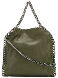Stella Mccartney Small Falabella Tote Women Artificial Leather Metal One Size Green