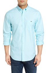 Vineyard Vines Men's End On End Tucker Classic Fit Sport Shirt Turquoise