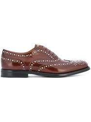Church's Embellished Brogues Oxford Shoes Brown