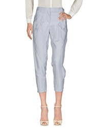 Atos Lombardini Trousers Casual Trousers Light Grey