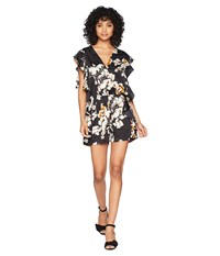 Bishop Young Ruffle Romper Black Jumpsuit And Rompers One Piece