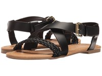 Report Ginjer Black Synthetic Women's Sandals