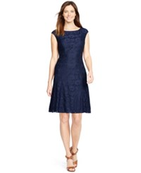 American Living Floral Lace Dress