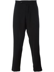 Societe Anonyme 'Deep George' Tapered Trousers Black