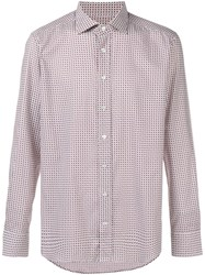 Etro Paisley Print Fitted Shirt White