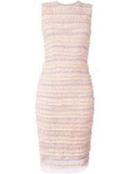 Givenchy Ruched Panel Dress Pink And Purple