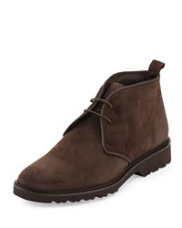 Bruno Magli Wender Suede Chukka Boot Brown