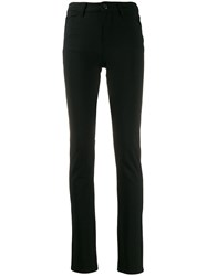 Emporio Armani Skinny Fit Trousers Black