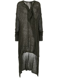 Taylor Draped Drawstring Cardigan Black