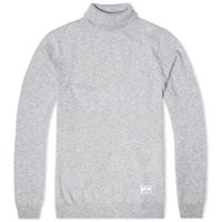Mki Cashmere Merino Roll Neck Knit Grey