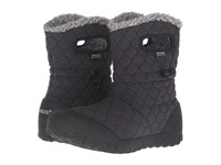 Bogs B Moc Quilted Puff Black Women's Waterproof Boots