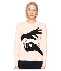 Paul Smith Bunny Sweater Pale Pink Women's Sweater