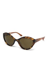 M Missoni Women's Cat Eye Acetate Frame Sunglasses Brown