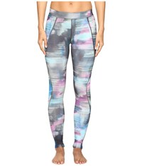 Asics Graphic Tights 26 Abstract Nuage Print Women's Casual Pants Multi