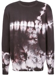 Stussy Bleach Effect Sweater Brown