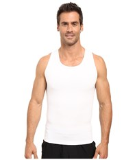 2Xist Shapewear Form Tank White Men's Sleeveless