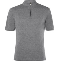 Iffley Road Sidmouth Drirelease Half Zip T Shirt Gray