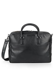 Marc By Marc Jacobs Leather Briefcase Black