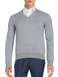 Versace Woolen Long Sleeve Pullover Grey