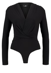 Wallis Long Sleeved Top Black