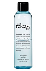 Philosophy 'Just Release Me' Dual Phase Oil Free Eye Makeup Remover