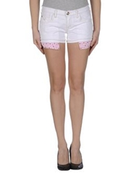 Jacob Cohen Jacob Coh N Denim Bermudas White