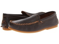 Minnetonka Venetian Slip On Dark Brown Leather Men's Shoes