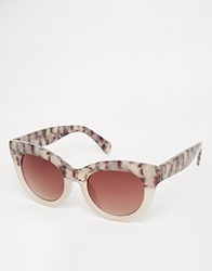 Monki Eve Cat Eye Sunglasses Multi