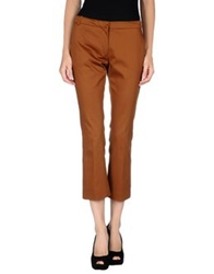 Semi Couture Casual Pants Camel