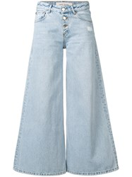 Each X Other Wide Leg Jeans Blue