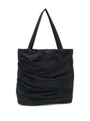 Alchemy Ruched Panel Tote Black