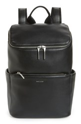 Matt And Nat Loom Brave Faux Leather Backpack Black