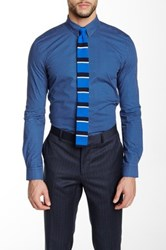 Moods Of Norway Johnny Slim Fit Shirt Blue