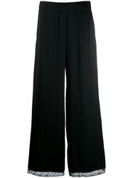 Semicouture Flared Trousers Black