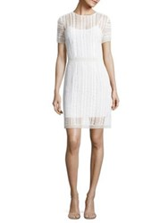 Michael Michael Kors Crochet Lace Dress White