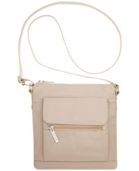 Giani Bernini Nappa Leather Venice Crossbody Cappuccino