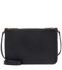 Burberry Leather Crossbody Bag Black