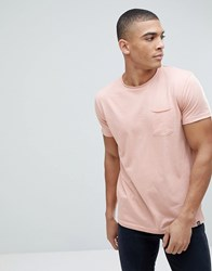 Solid T Shirt In Pink