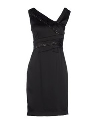 Roccobarocco Short Dresses Black