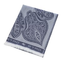 Etro Smithtown Paisley Throw 150X180cm Blue