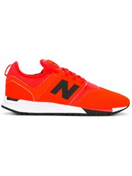 New Balance Panelled Sneakers Yellow Orange