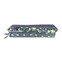 Liberty London Box Pencil Case Strawberry Thief Blue