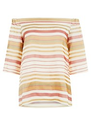 Hobbs Elsie Top Multi Coloured Multi Coloured