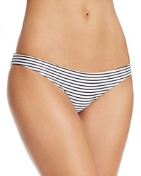 Mikoh Zuma Stripe Bikini Bottom Vintage Sailor Night
