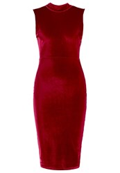 Wal G G. Shift Dress Red