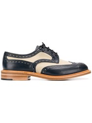 Tricker's Trickers Bicolour Derby Shoes Blue