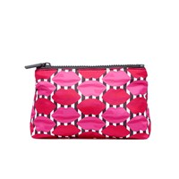 Lulu Guinness Women's Lips T Seam Cosmetic Case Multi