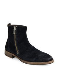 John Varvatos Zip Up Ankle Boots Black